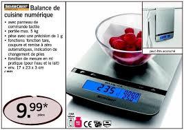 balance de cuisine silvercrest lidl promotion balance de cuisine numérique silvercrest