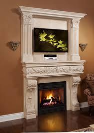 venetian classic stone fireplace mantel mantelsdirect com