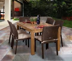 beachcrest home elsmere 7 piece outdoor dining set with cushions