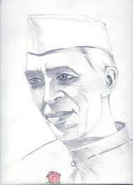 jawaharlal nehru painting by tanmay singh