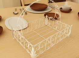 metal fruit basket fancy metal fruit basket 08 3d model cgtrader