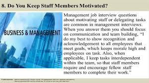Job Interview Resume Questions by 136 Management Interview Questions And Answers Youtube