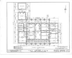 Grand Ole Opry Floor Plan Annotated First Floor Plan For The Hermitage Nashville Davidson