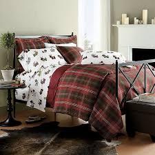 Plaid Bed Sets Handsome Plaid Bedding Set All Modern Home Designs