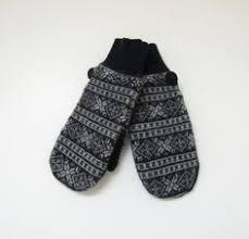 fleece mitten pattern felted wool sweater mittens fleece lined