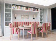 bamboo walls shelves simple furniture