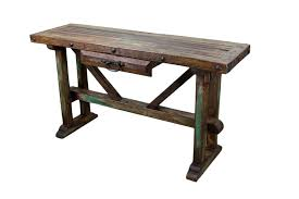 Old Pine Furniture Recycled Old Pine Sofa Table Rustic Mexican Furniture Mexican