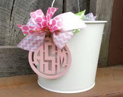 custom easter baskets etsy