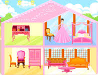 Pink Dollhouse Decoration Girl Games