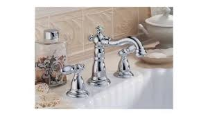 Delta Widespread Faucet Delta 3555lf 216 Victorian Two Handle Widespread Lavatory Faucet