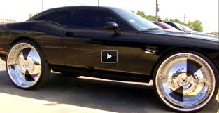Muscle Car Rims - challenger on 32 inch forgiato rims muscle cars zone