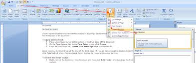 Count Words In A Document In Wordpad Insert Different Page Numbers In Different Sections Of A Word