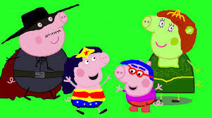 zorro painting peppa pig family painting paint painting drawing milhouse