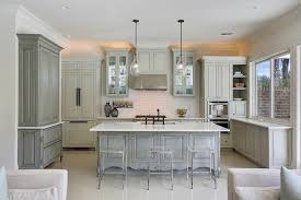 Kitchen Furniture Hutch Gray Hutch And Sideboard Transitional Kitchen Maison De Reve