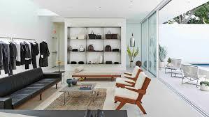 californian modernism informs olsen twins u0027 fashion store in los