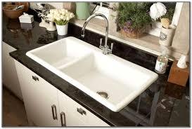 Undermount Double Ceramic Kitchen Sink Sink And Faucets  Home - Double ceramic kitchen sink