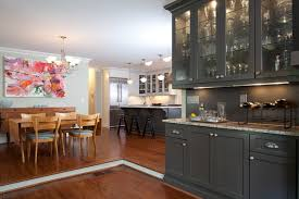 Repainting Cabinets Dark Painted Cabinets Houzz