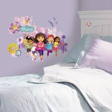 Dora The Explorer Bedroom Furniture by Dora The Explorer Wall Decals Dora The Explorer Wall Stickers