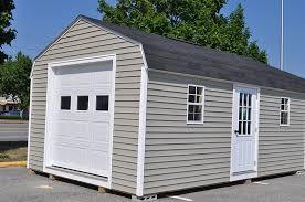 gambrel garage gambrel sheds shed happens