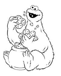 cookie monster pictures cookie monster coloring pages