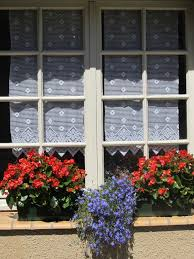 French Kitchen Curtains by 27 Best French Kitchen Window Dressing Images On Pinterest