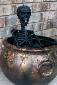 halloween cauldrons easy rusty crusty halloween cauldron tgif this grandma is fun