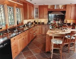 kitchen floor tiling ideas kitchen flooring ideas with oak cabinets gen4congress
