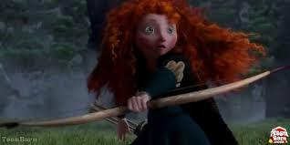 pixar u0027s brave trailer unveils merida disney princess