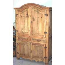 Armoire Furniture Plans Woodworking Project Paper Plan To Build Hacienda Armoire For Tv Or