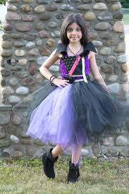 Mal Costume Mal Inspired Tutu Dress Mal Costume Mal Birthday Tutu