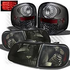 2002 ford f150 tail lights amazon com for 1997 2003 ford f150 flareside smoked headlights