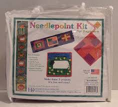needlepoint kit for beginners f543 by harrisville designs inc