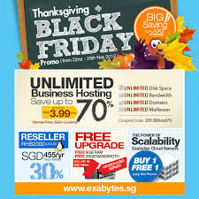 thanksgiving black friday 4 day 70 sale exabytes singapore
