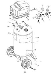 sears craftsman 919 166440 air compressor parts