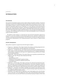 sample training report chapter one introduction leveraging technology for page 4