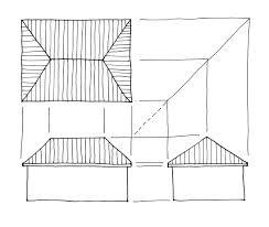 floor plan rendering drawing hand grid loversiq