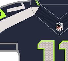 design gridiron jersey the gridiron uniform database seahawks sported sans serifs silly