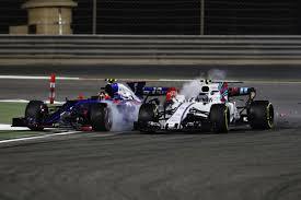lexus rc f price in bahrain sainz handed russian gp grid penalty for stroll clash in bahrain