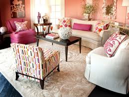 Living Room   Sweet Desk And Chairs For Living Room Complete - Pink living room set