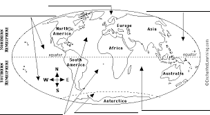 continents and oceans map worksheet free worksheets library