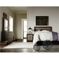 Standard Furniture Oakland Contemporary Twin Panel Bed Wayside - Oakland bedroom furniture