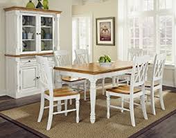 Dining Table And Six Chairs Amazon Com Home Styles 5020 309 Monarch Rectangular Dining Table