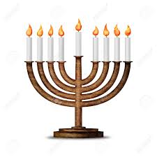 hanukka candles hanukkah candles all candle lite on the traditional hanukkah
