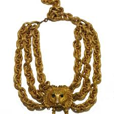 pauline rader necklace vintage gold costume jewelry collectors weekly