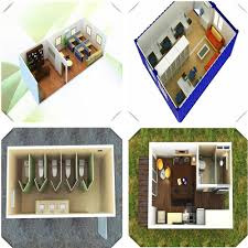 prefab house design 20ft container house floor plan buy
