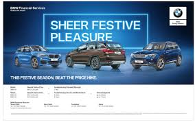 bmw ads bmw cars sheer festive pleasure ad advert gallery