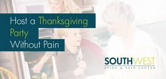 how to host a thanksgiving without southwest spine
