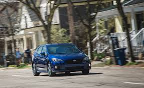 small subaru hatchback 2017 subaru impreza in depth model review car and driver