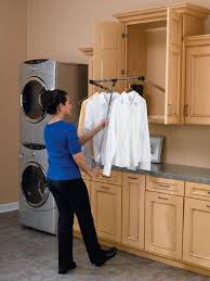 laundry room laundry hanging bar images laundry sorter cart with