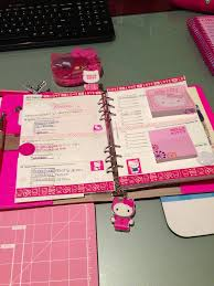 hello kitty modern kitchen set next week u0027s set in my fluro pink a5 filofax went with the hello